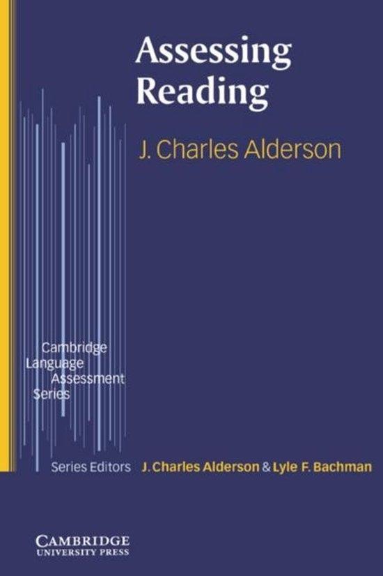 Assessing Reading PB : 9780521599993
