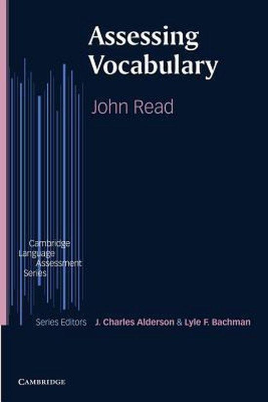 Assessing Vocabulary PB : 9780521627412