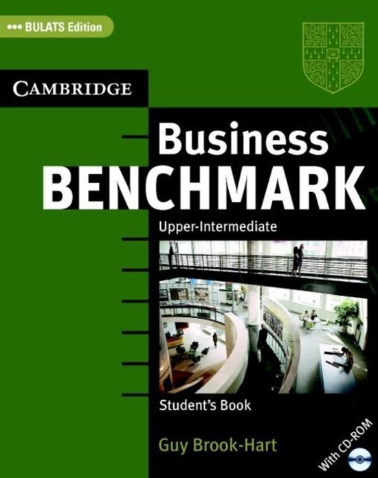 Business Benchmark Upper-Intermediate Student´s Book with CD-ROM BULATS Edition