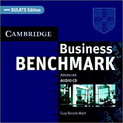 Business Benchmark Advanced Audio CDs (2) BULATS edition : 9780521676625