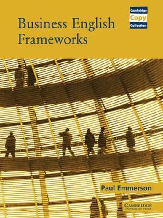 Business English Frameworks Book