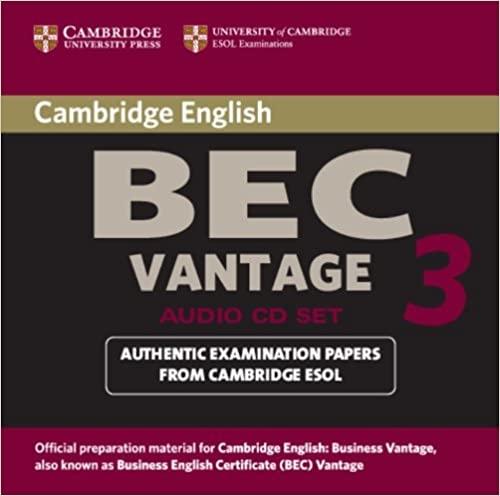 Cambridge BEC 3 Vantage Audio CD