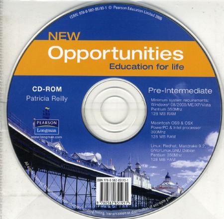 New Opportunities Pre-Intermediate Student CD-ROM