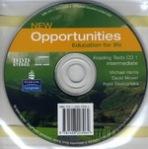 New Opportunities Intermediate Reading Text Audio CD