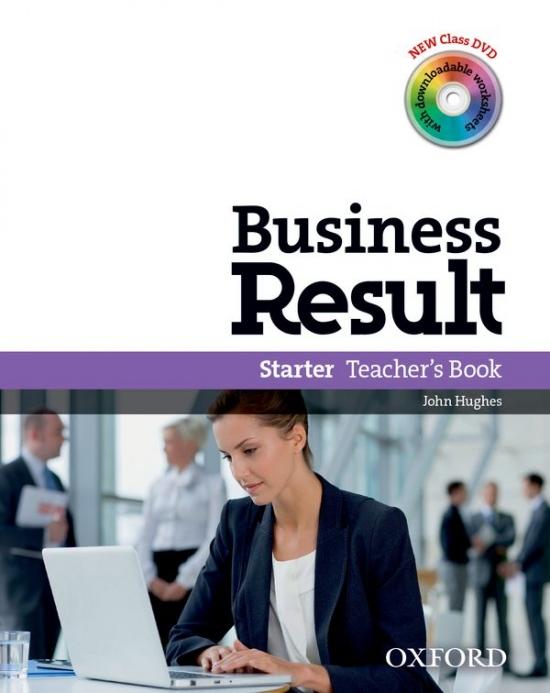 Business Result Starter Teacher´s Book & DVD Pack