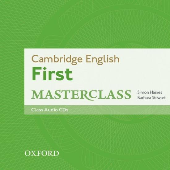 Cambridge English First Masterclass Class Audio CDs (2)