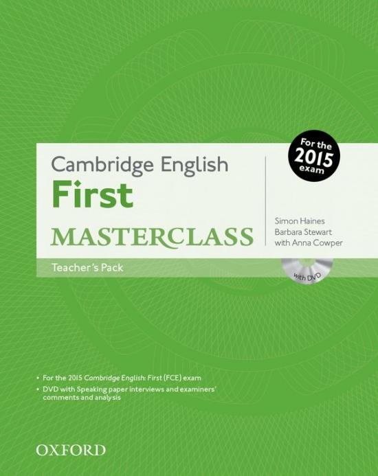 Cambridge English First Masterclass Teacher´s Pack : 9780194512770