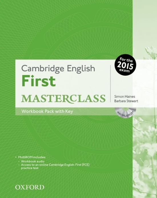 Cambridge English First Masterclass Workbook with Key Pack
