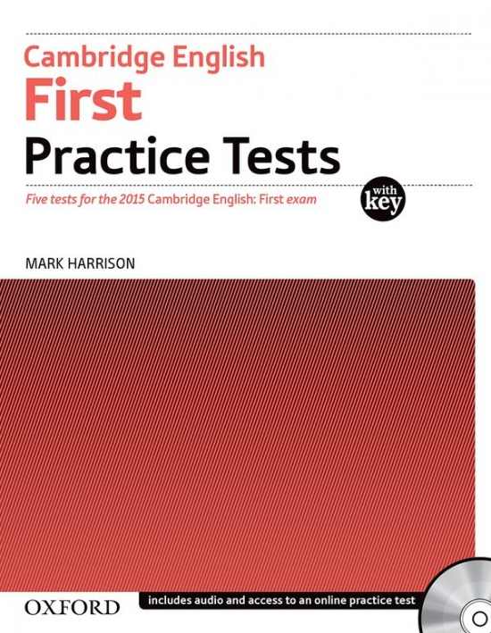 Cambridge English: First Practice Tests with Answer Key and Audio CDs Pack : 9780194512565