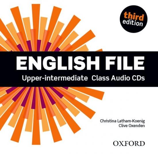 English File Upper-Intermediate (3rd Edition) Class Audio CD (4)