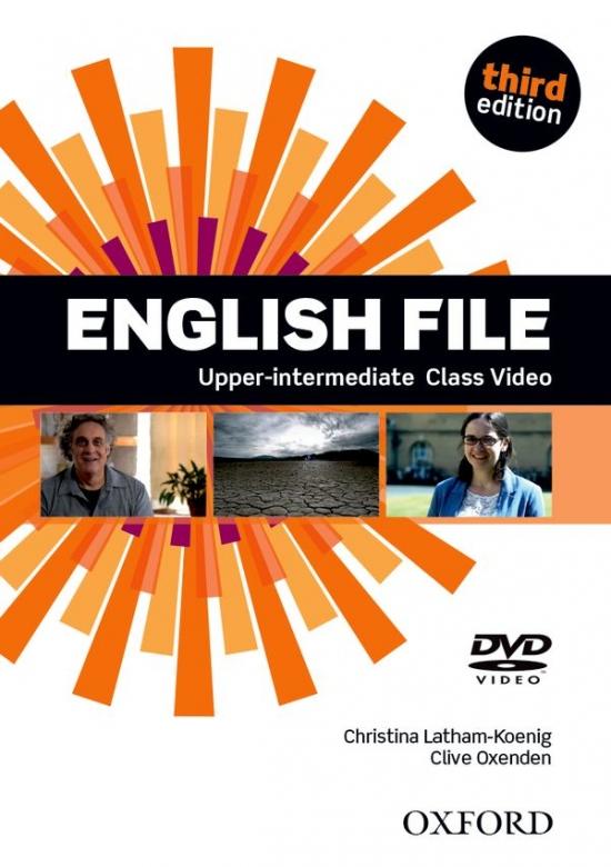 English File Upper-Intermediate (3rd Edition) Class DVD