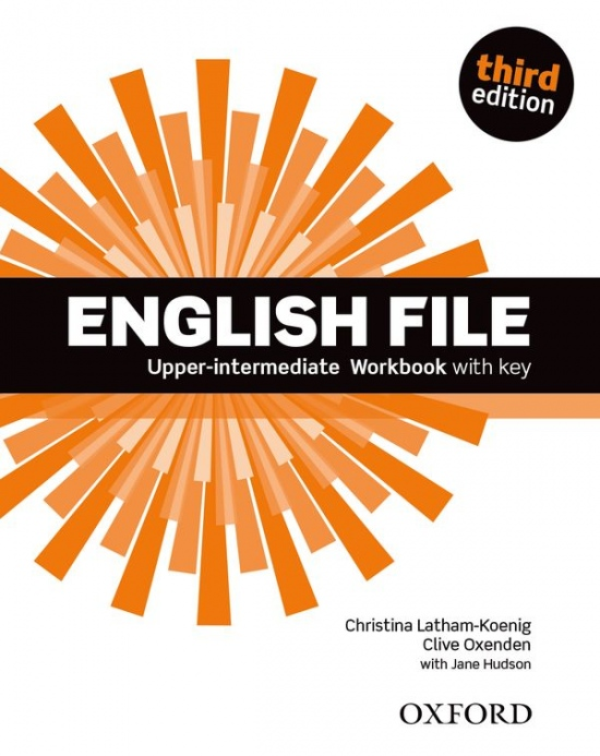 English File Upper-Intermediate (3rd Edition) Workbook with Answer Booklet : 9780194558501