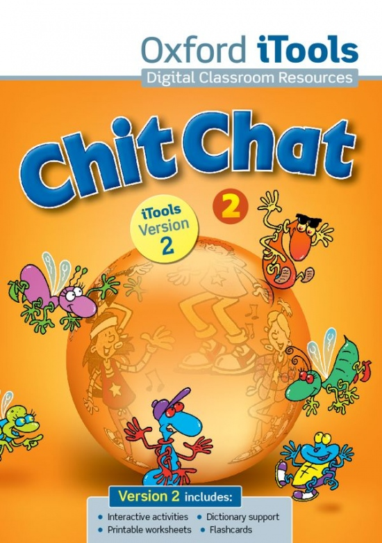 Chit Chat 2 New iTools DVD-ROM with Book on Screen CZE