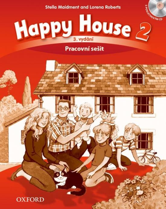 Happy House 3rd Edition 2 Activity Book CZE