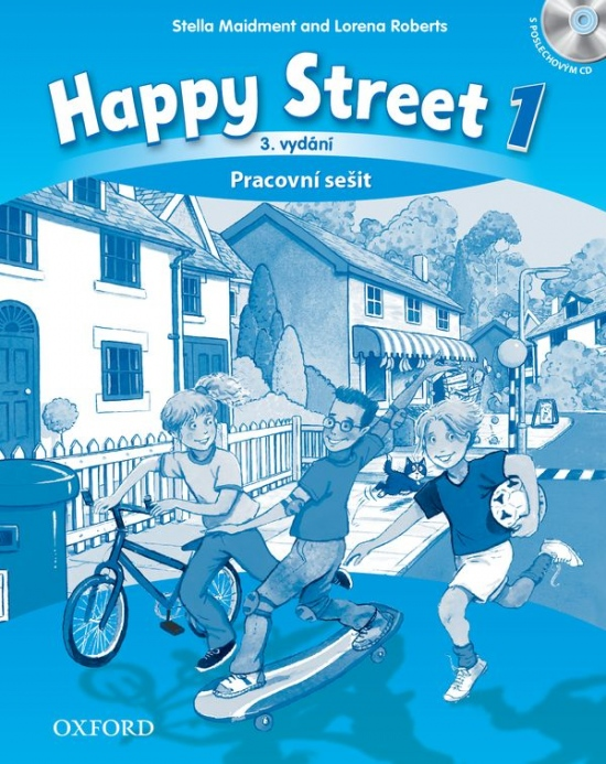 Happy Street 3rd Edition 1 Activity Book CZE