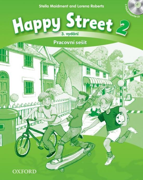 Happy Street 3rd Edition 2 Activity Book CZE