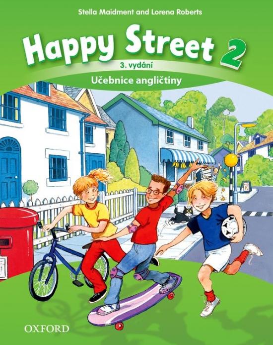 Happy Street 3rd Edition 2 Class Book CZE