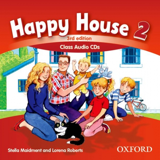Happy House 3rd Edition 2 Class Audio CDs (2)