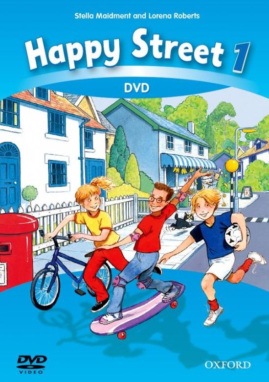Happy Street 3rd Edition 1 DVD