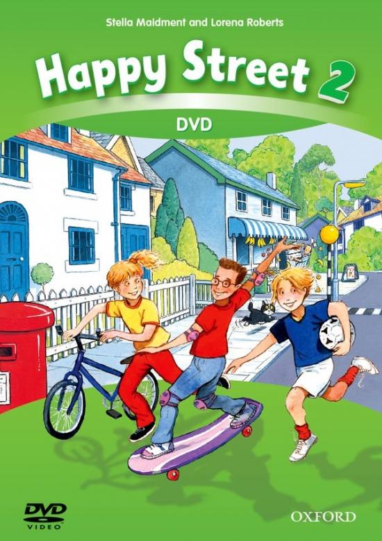 Happy Street 3rd Edition 2 DVD