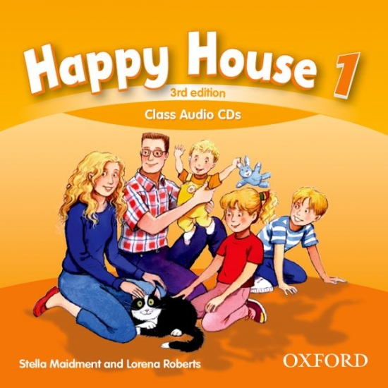 Happy House 3rd Edition 1 Class Audio CDs (2)