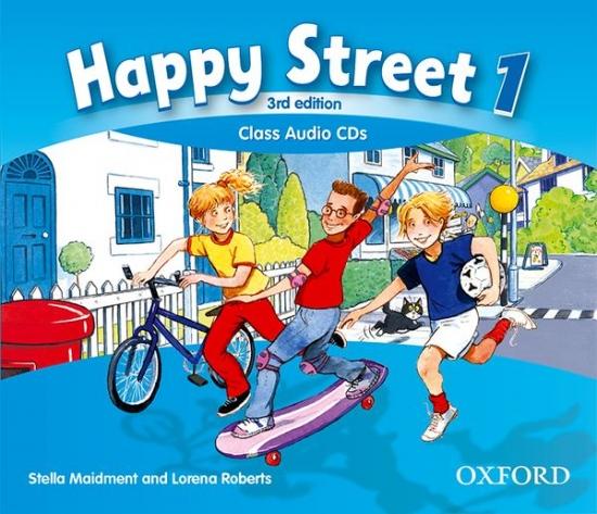 Happy Street 3rd Edition 1 Class Audio CDs (3)