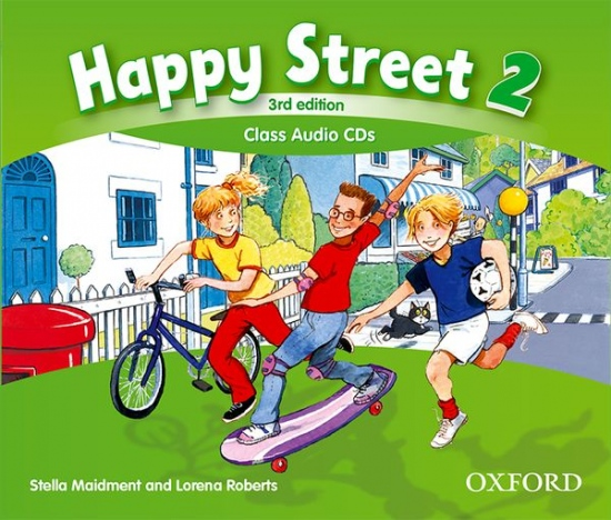 Happy Street 3rd Edition 2 Class Audio CDs (3)