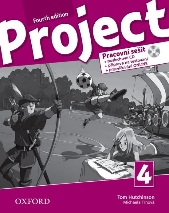 Project Fourth Edition 4 Pracovní sešit s Audio CD