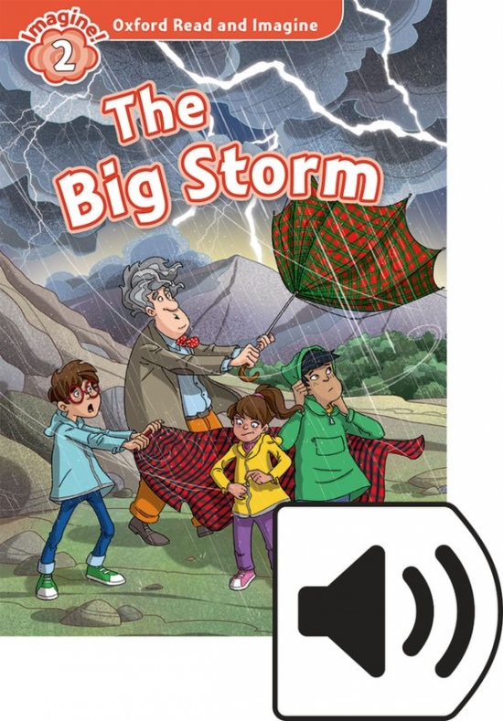 Oxford Read and Imagine 2 The big Storm Audio MP3 Pack