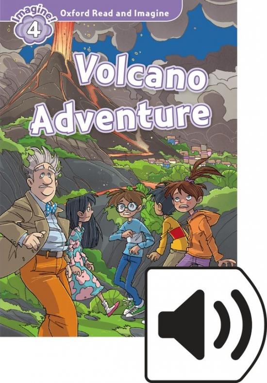Oxford Read and Imagine 4 Volcano Adventure Audio Mp3 Pack