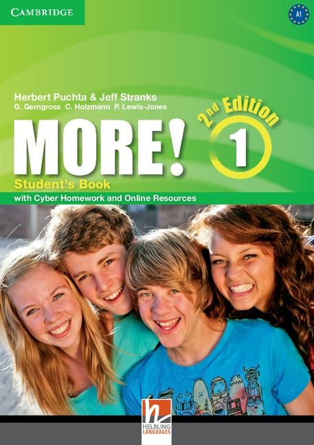 More! 1 2nd Edition Student´s Book with Cyber Homework & Online Resources