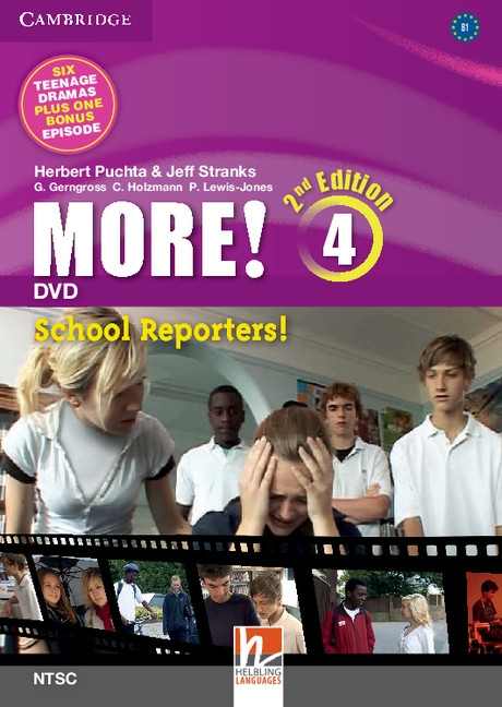 More! 4 2nd Edition DVD