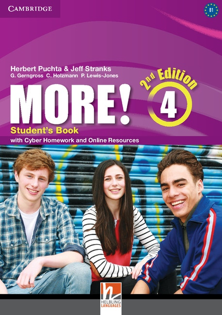 More! 4 2nd Edition Student´s Book with Cyber Homework : 9781107640511
