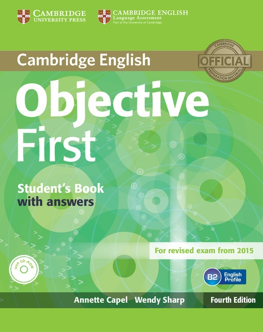 Objective First 4th Edition Student´s Book with Answers & CD-ROM