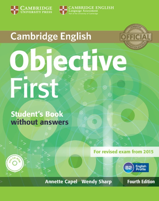 Objective First 4th Edition Student´s Book without Answers with CD-ROM