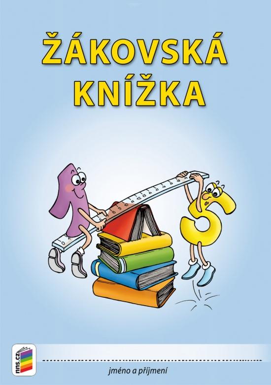 Žákovská knížka pro 3.–9. ročník - modrá (3-04) : 8595606700918