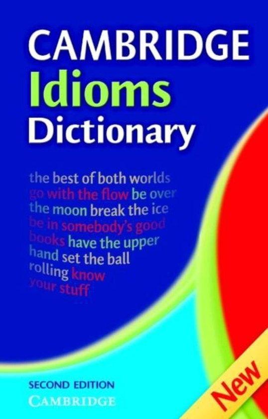Cambridge Idioms Dictionary Hardback : 9780521860376