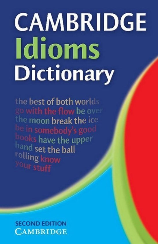 Cambridge Idioms Dictionary Paperback