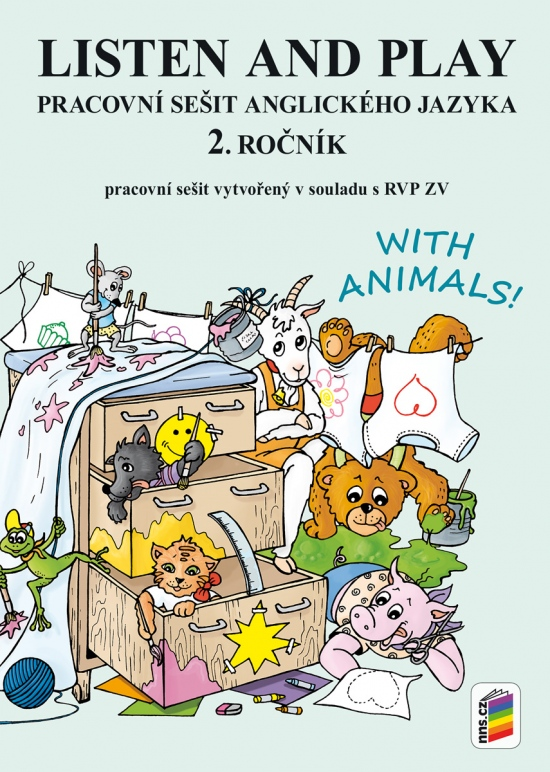 Listen and play 2 - WITH ANIMALS pracovní sešit (2-85)