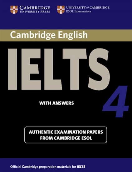 Cambridge IELTS Self-study Student´s Book with answers 4 : 9780521544627