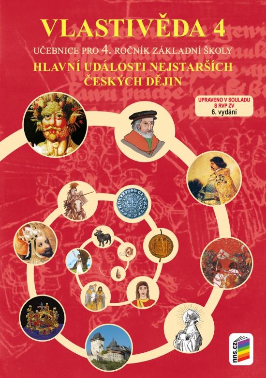 Vlastivěda 4 - Hlavní události nejstarších českých dějin (učebnice) 4-45 : 9788072899036