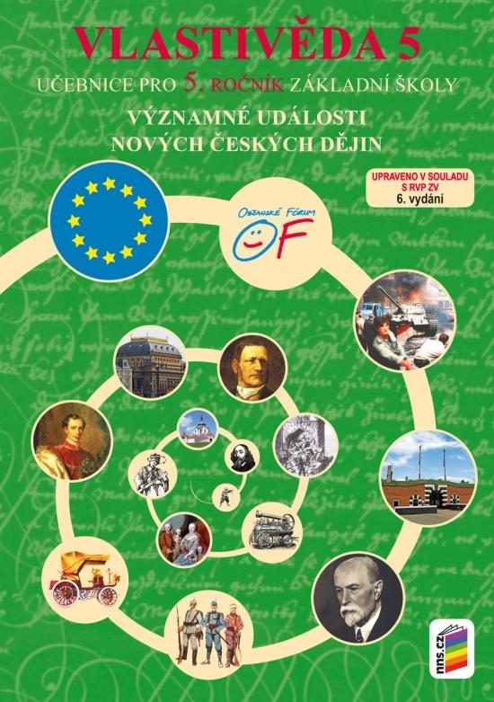 Vlastivěda 5 - Významné události nových českých dějin (učebnice) (5-45) : 9788076000261