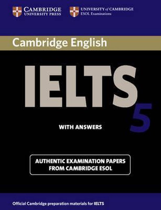 Cambridge IELTS Student´s Book with answers 5 : 9780521677011