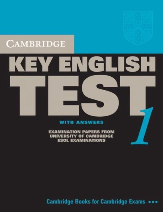 Cambridge Key English Test 1 Student´s Book with answers