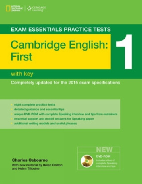 Exam Essentials: Cambridge First Practice Test 1 with key + DVD-ROM (New Edition)