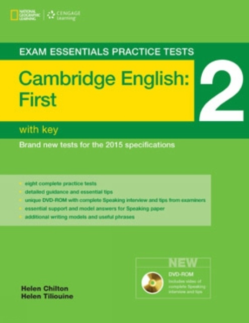 Exam Essentials: Cambridge First Practice Test 2 with key + DVD-ROM (New Edition)