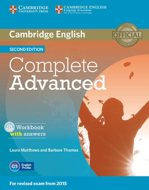 Complete Advanced 2nd Edition Workbook with answers