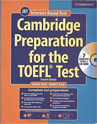 Cambridge Preparation for the TOEFL† Test. Fourth Edition Audio CDs (8) : 9780521755856