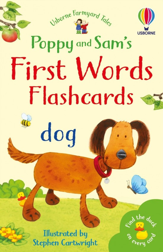 Poppy and Sam´s First Words Flashcards