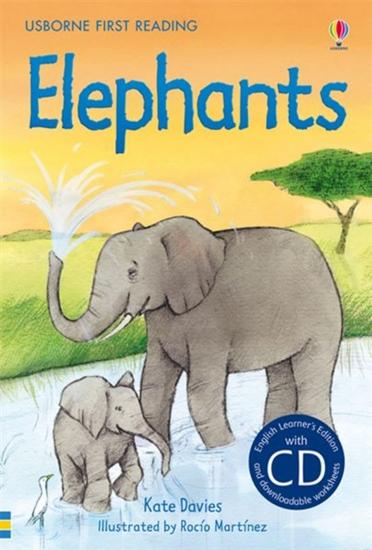 Usborne First Readers 4 - Elephants + CD